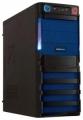 Корпус Crown CMC-SM162 black/blue ATX 450W