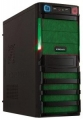 Корпус Crown CMC-SM162 450W smart black/green ATX