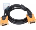 Кабель DVI- DVI 1.8м Aopen dual link 2фильтра [ACG446D-1.8M]