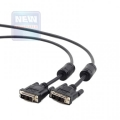 Кабель DVI- DVI  3.0м Gembird [CC-DVI-BK-10]