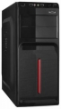 Корпус ExeGate AB-221 Black, 500W, ATX, 80mm, 2*USB, Audio