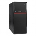 Корпус ExeGate AA-328U Black, без БП, ATX, 2*USB+1*USB3.0, Audio