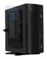 """Корпус Fox S101-BK 200W, VESA, слот slim DVD-RW, 2,5"""" HDD*1, 2*USB, Wi-Fi модуль, mATX"""