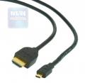 Кабель HDMI- microHDMI  1.8м Gembird [CC-HDMID-6]