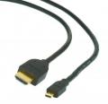 Кабель HDMI- microHDMI  2.0м