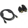 Кабель HDMI- HDMI 3m Aopen 19M/M ver 2.0, 2фильтра [ACG711D-3M]