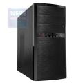 Корпус Inwin ES722 400W black mATX OEM (без логотипов)