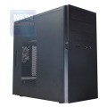 Корпус Inwin ES725 400W black mATX OEM (без логотипов)