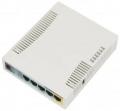 Роутер MikroTik RB951Ui-2HnD RouterBOARD 802.11b/g/n, 2.4 ГГц до 300 Мбит/с, 5xLAN 10/100, 1xUSB 2.0, PoE