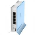 Роутер MikroTik RB941-2nD-TC RouterBOARD 802.11b/g/n, 2.4 ГГц до 100 Мбит/с, 4xLAN 10/100