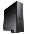 Корпус Powerman EL555 300W black mATX U3.0*2+U2*2+2*combo Audio