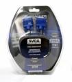 Кабель SVGA 15m/15f 5.0м удлинитель 2 фильтра Krauler