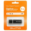 Флеш диск 8Gb Qumo Optiva 01 Black