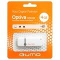 Флеш диск 4Gb Qumo Optiva 02 White