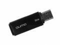 Флеш диск 32Gb Qumo Tropic Black