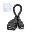 Кабель USB Af->microBm 0.15m OTG Gembird