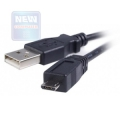 Кабель USB Am->microB 5P 0.5m [CCP-mUSB2-AMBM-0.5]