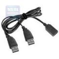 Кабель USB 2.0 PRO Am->Af 1.8m (удлинитель) позол.конт., черный Gembird [CCP-USB22-AMAF-6]