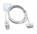Кабель USB 2.0 Apple 1m Gembird CC-USB-AP1MW