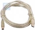 Кабель USB 2.0 Am->Bm 5m Telecom прозрачная изоляция [VUS6900T-5MTP]