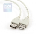 Кабель USB 2.0 Am->Af 0.75m (удлинитель) Gembird [CC-USB2-AMAF-75CM/300]