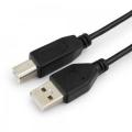 Кабель USB 2.0 Am->Bm 1.0m Гарнизон черный [GCC-USB2-AMBM-1M]