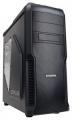 Корпус ZALMAN Z3 PLUS black, без БП, боковое окно, ATX