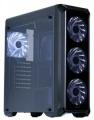 Корпус ZALMAN i3 Edge black, без БП, ATX