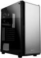 Корпус ZALMAN S4, без БП, большое боковое окно, черный, ATX
