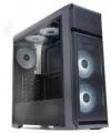 Корпус ZALMAN N5 OF, без БП, боковое окно (акрил), black, ATX