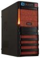 Корпус Crown CMC-SM162 450W smart black/orange ATX