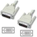 Кабель DVI- DVI 3.0m Cablexpert dual link 25M/25M, экран, феррит.кольца [CC-DVI2-10]