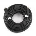 Кабель HDMI- HDMI 30m Cablexpert v1.4, 19M/19M, черный, позол.разъемы, экран [CC-HDMI4-30M] ТОЛЬКО ВИДЕО!