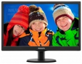 "Монитор 18.5"" Philips 193V5LSB2/10 1366:768 5ms LED D-SUB Black"
