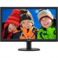 "Монитор 23.6"" Philips 243V5QHSBA (00/01) LED MVA 1920x1080 8ms 250cd 10M:1 178°/178° черный"