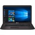 """Ноутбук Asus X756UV-TY077T (90NB0C71-M00810) Core i3 6100U 2300 MHz/17.3""""/1600x900/4Gb/500Gb/DVD-RW/NVIDIA GeForce 920MX 2Gb/Wi-Fi/Bluetooth/Windows 10 Home"""