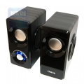 Колонки Dialog Stride AST-25UP black 2.0, 6W RMS,USB