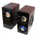Колонки Dialog Stride AST-25UP cherry 2.0, 6W RMS,USB