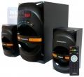Колонки Dialog Progressive AP-210B black 2.1, 30W+2*15W RMS, Bluetooth, USB+SD reader