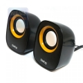 Колонки Dialog Colibri AC-06UP black 2.0, 6W RMS,USB