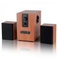Колонки Dialog Progressive AP-150 brown 2.1, 5W+2*2.5W RMS, USB+SD reader