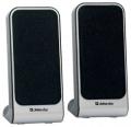 Колонки Defender SPK 220/225 black/white 2х2W разъём для наушников, USB (65220)