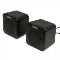 Колонки Dialog Colibri AC-01UP black 2.0, 1W RMS, USB