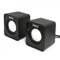 Колонки Dialog Colibri AC-02UP black 2.0, 6W RMS, USB