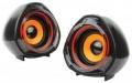 Колонки 2.0 Gembird SPK-105, черный, 5 Вт, рег, громкости, USB-питание