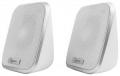 Колонки Gembird SPK-100, белый, 6 Вт, рег, громкости, USB-питание