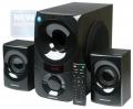 Колонки Nakatomi GS-35 black 2.1, 35W+2*15W RMS, Bluetooth, USB+SD reader