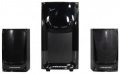 Колонки Nakatomi GS-37 black 2.1, 30W+2*15W RMS, Bluetooth, USB+SD reader
