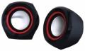 Колонки Oklick OK-206 black/red 2.0
