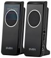 Колонки Sven 314 black 2.0, 2x2W RMS USB